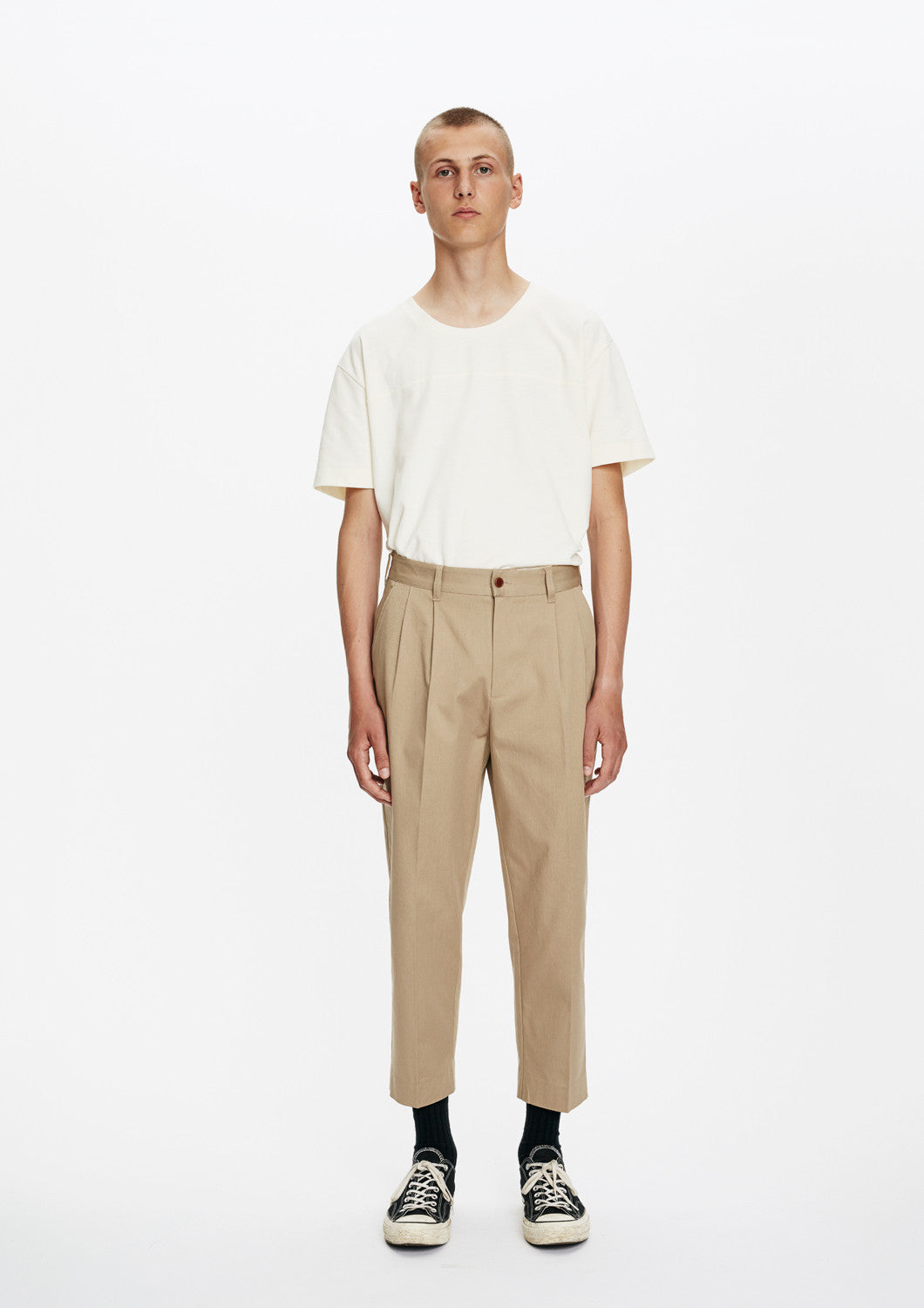 "ATTIRE TROUSERS ""Sand"""