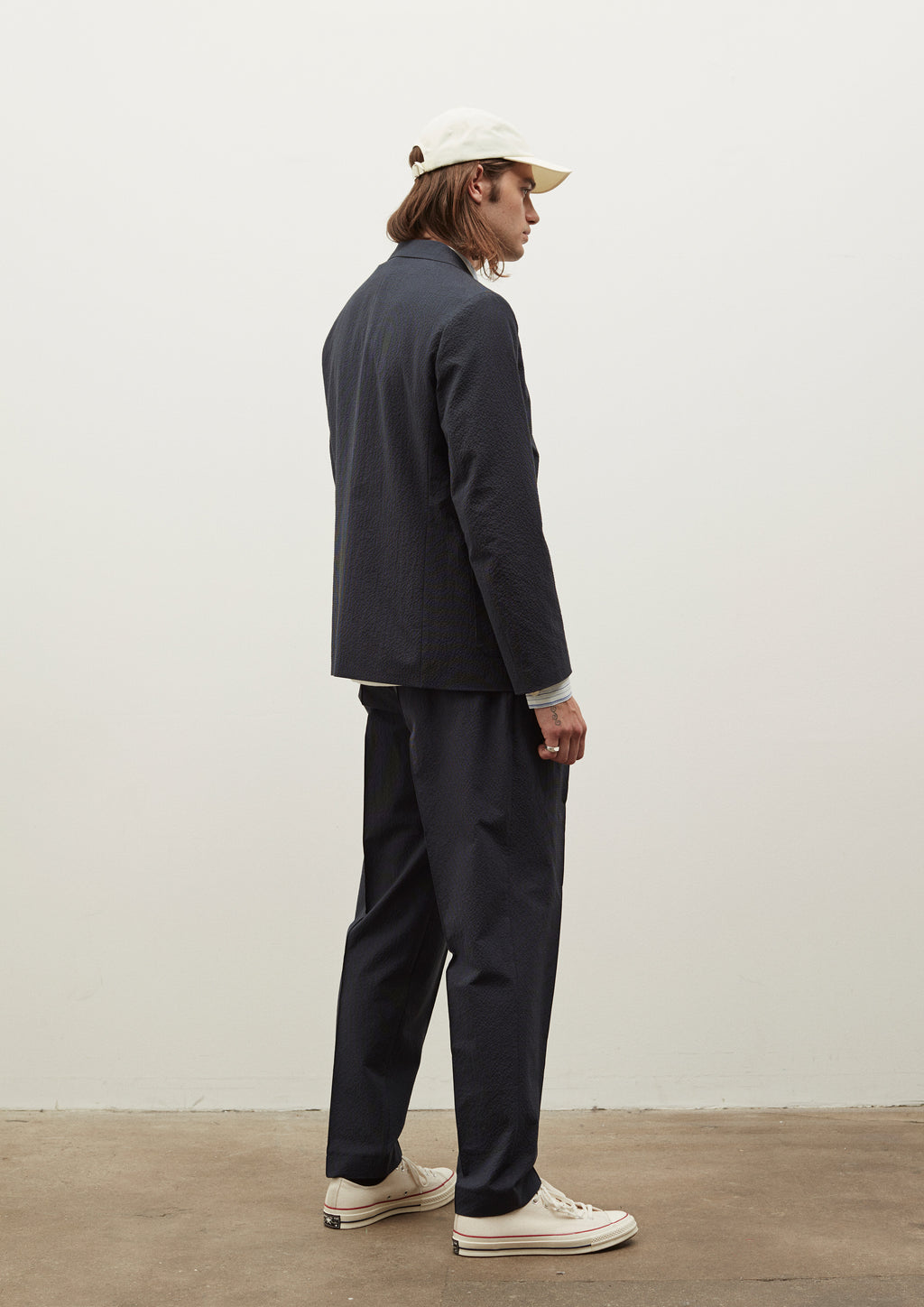 SAEVIO TROUSERS - DARK NAVY