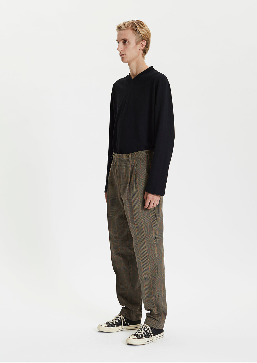 SAEVIO TROUSERS - CHECK