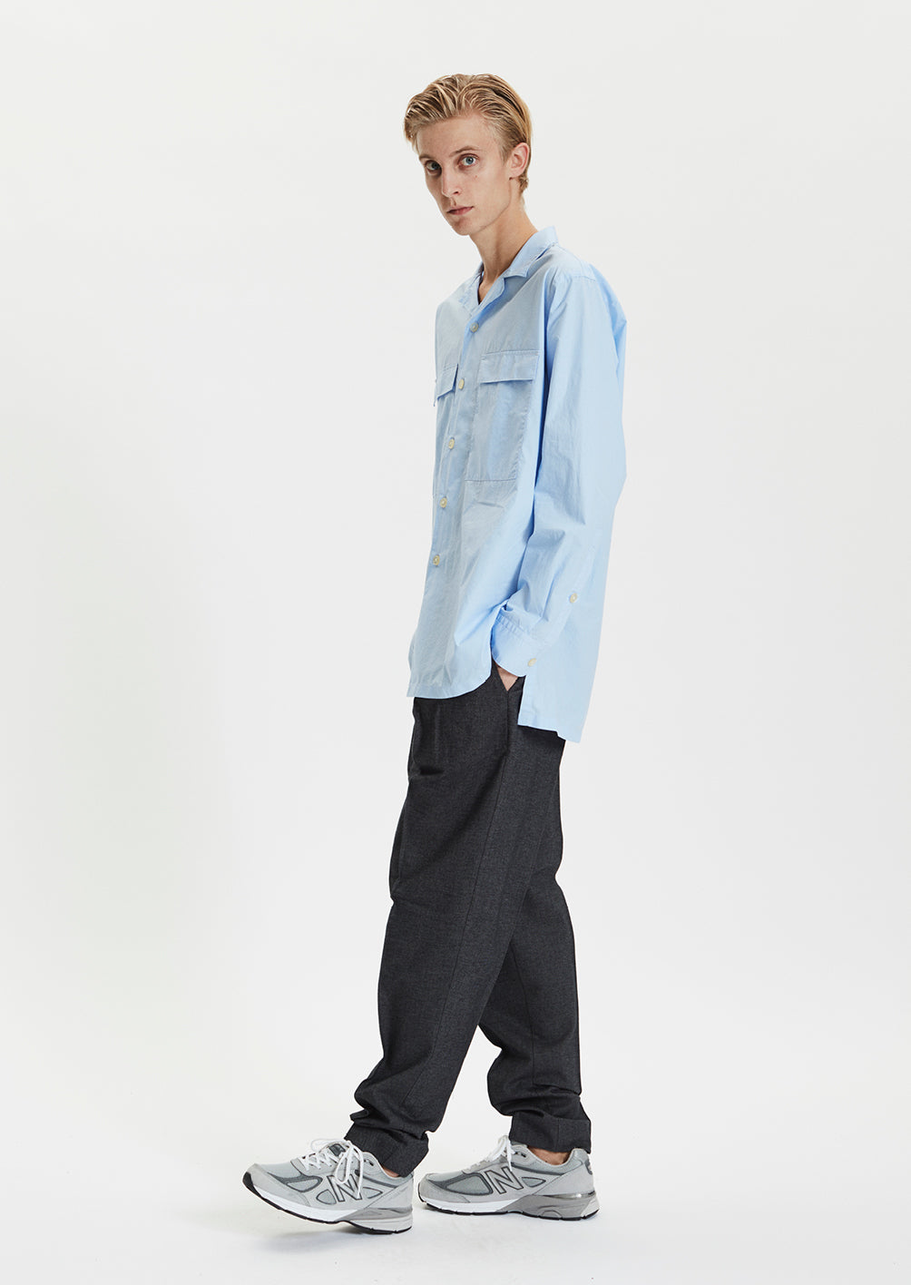 SAEVIO TROUSERS - GREY