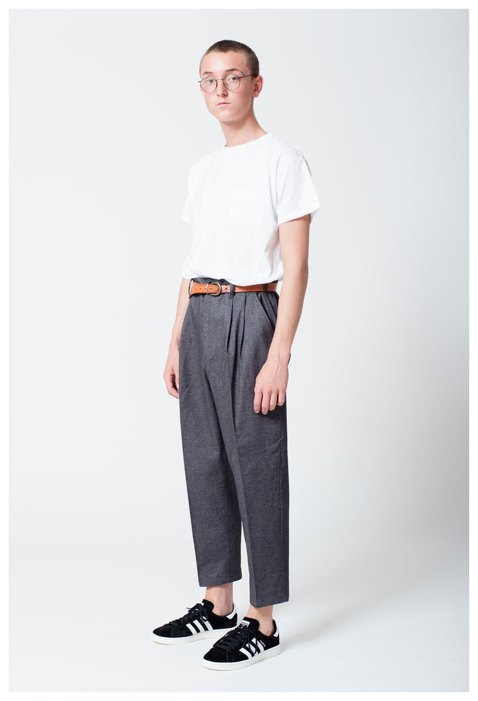 SATTIRE TROUSERS - GREY