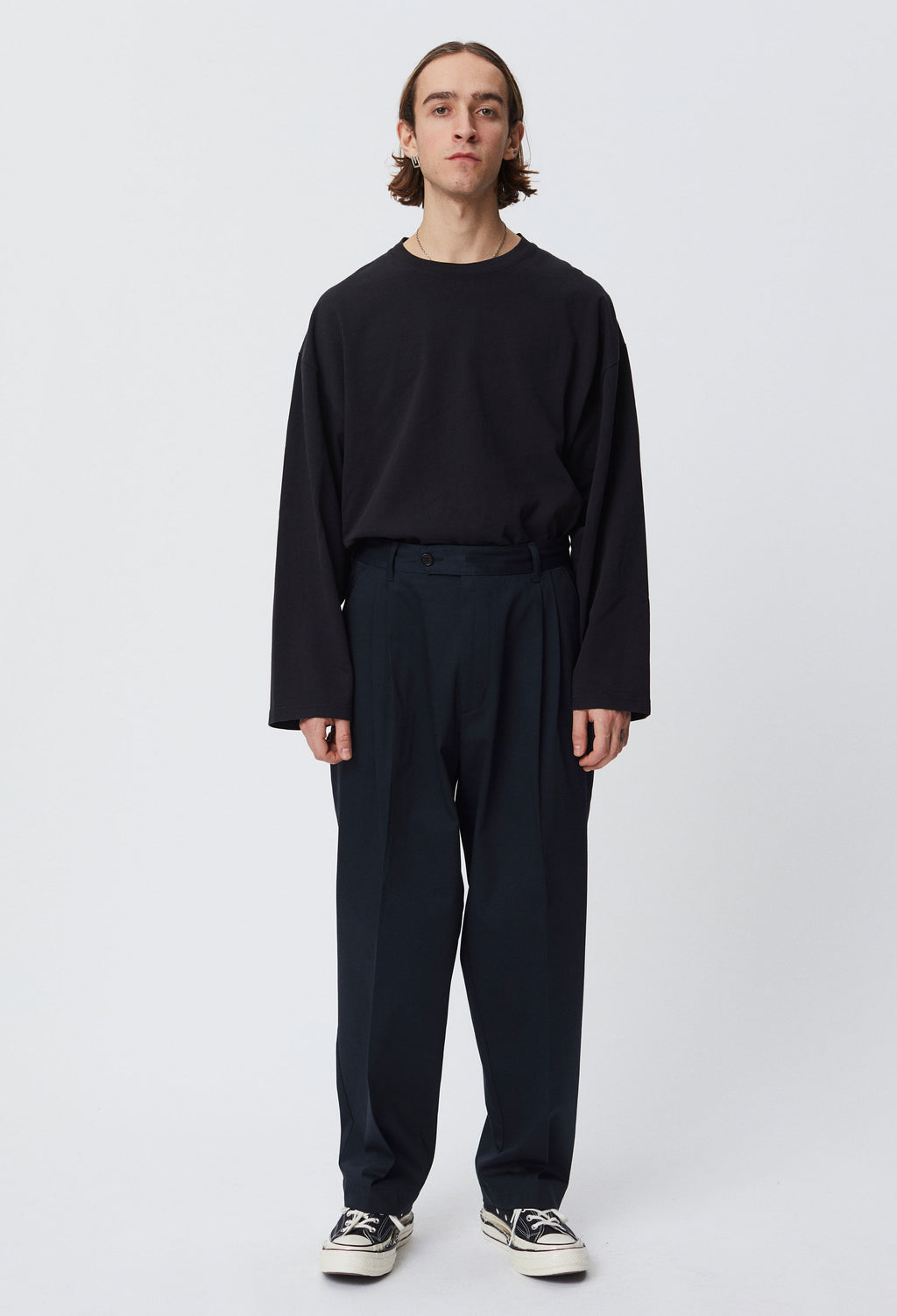 Scene Trousers - Dark Navy