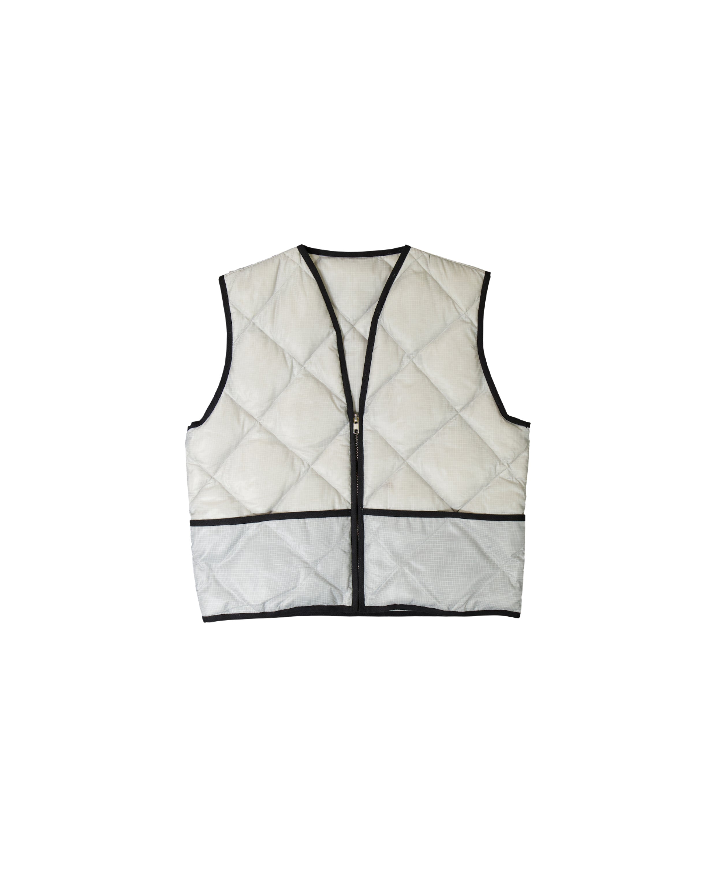 STUDIO VEST - LIGHT GREY