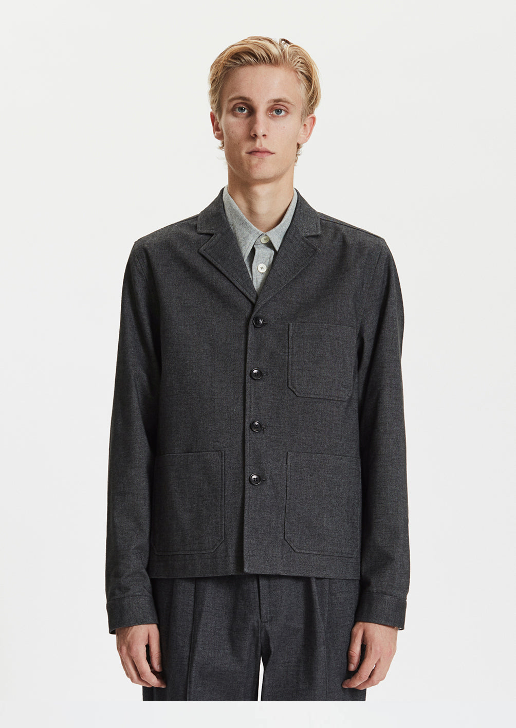 WORK JACKET - GREY