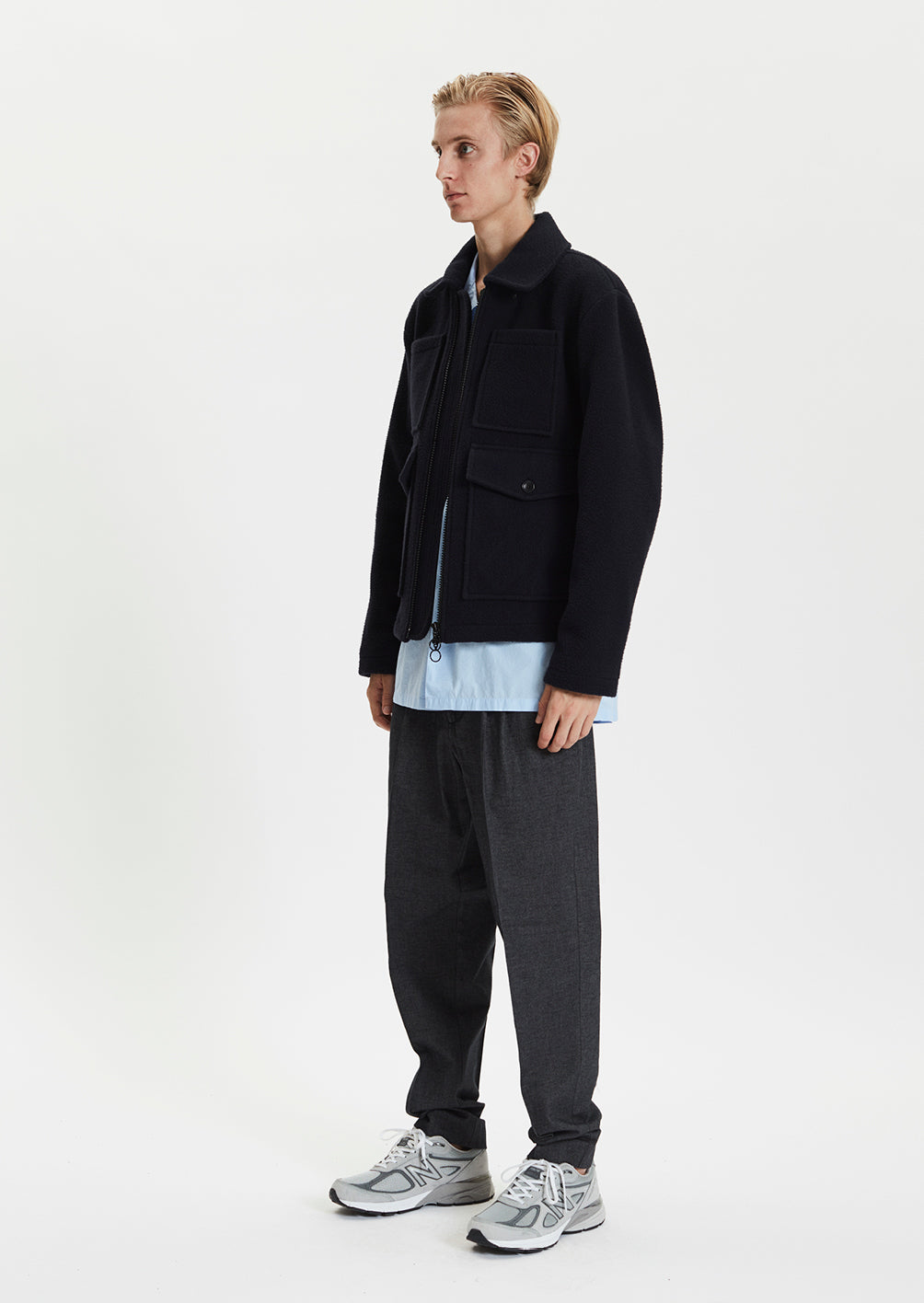 ATRESS BLOUSON - DARK NAVY