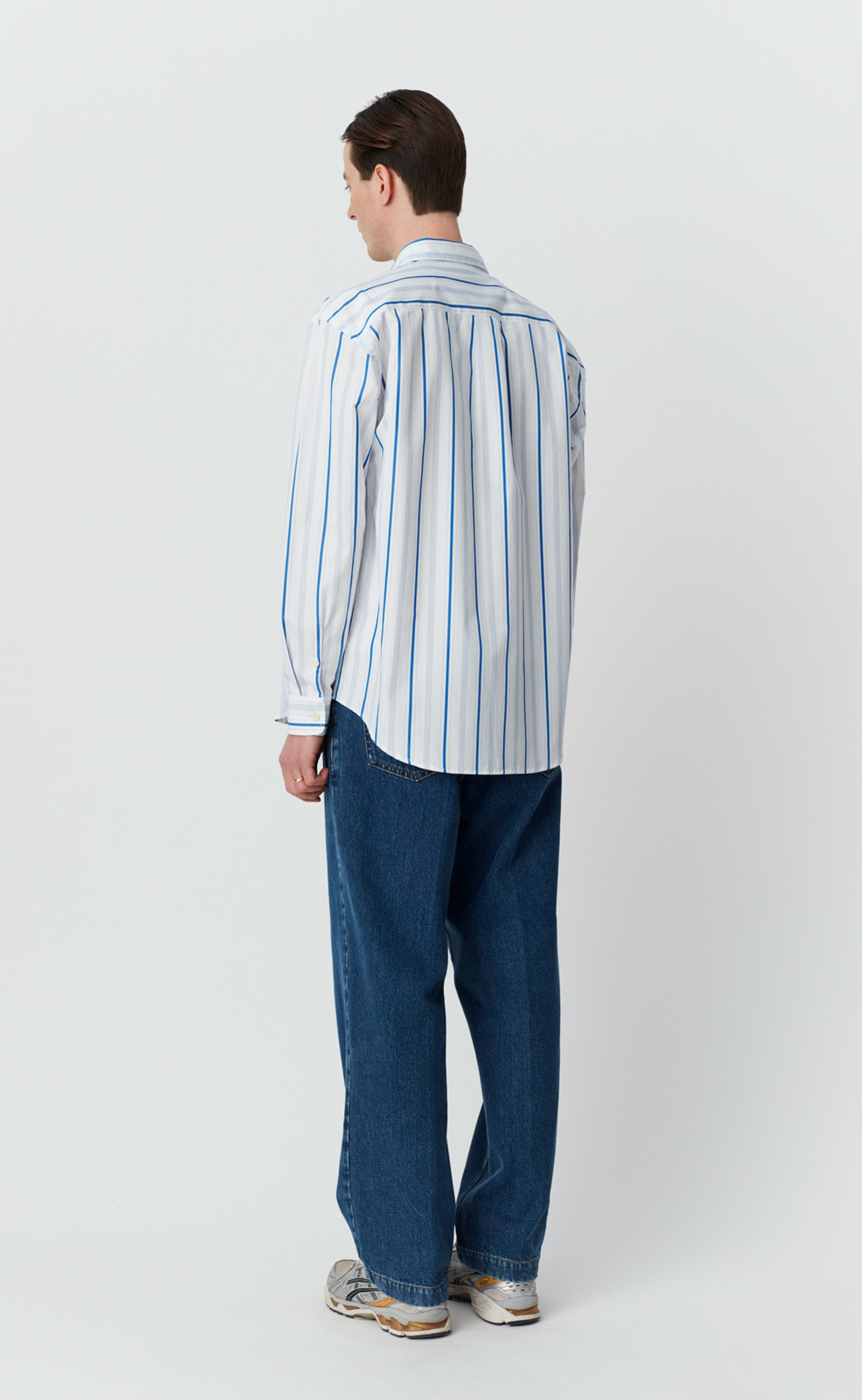 DISTANT SHIRT - BLUE STRIPE
