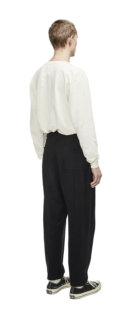 Relaxed Pleat Pants
