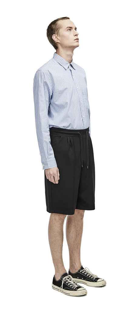 Relaxed Pleat Shorts