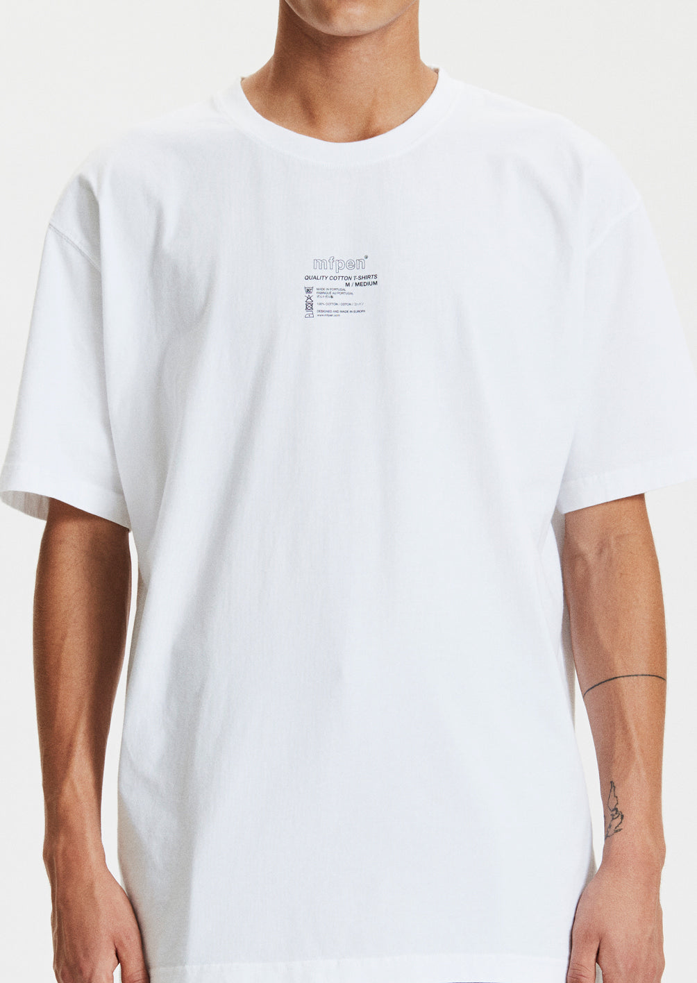 TAGLESS T-SHIRT - WHITE