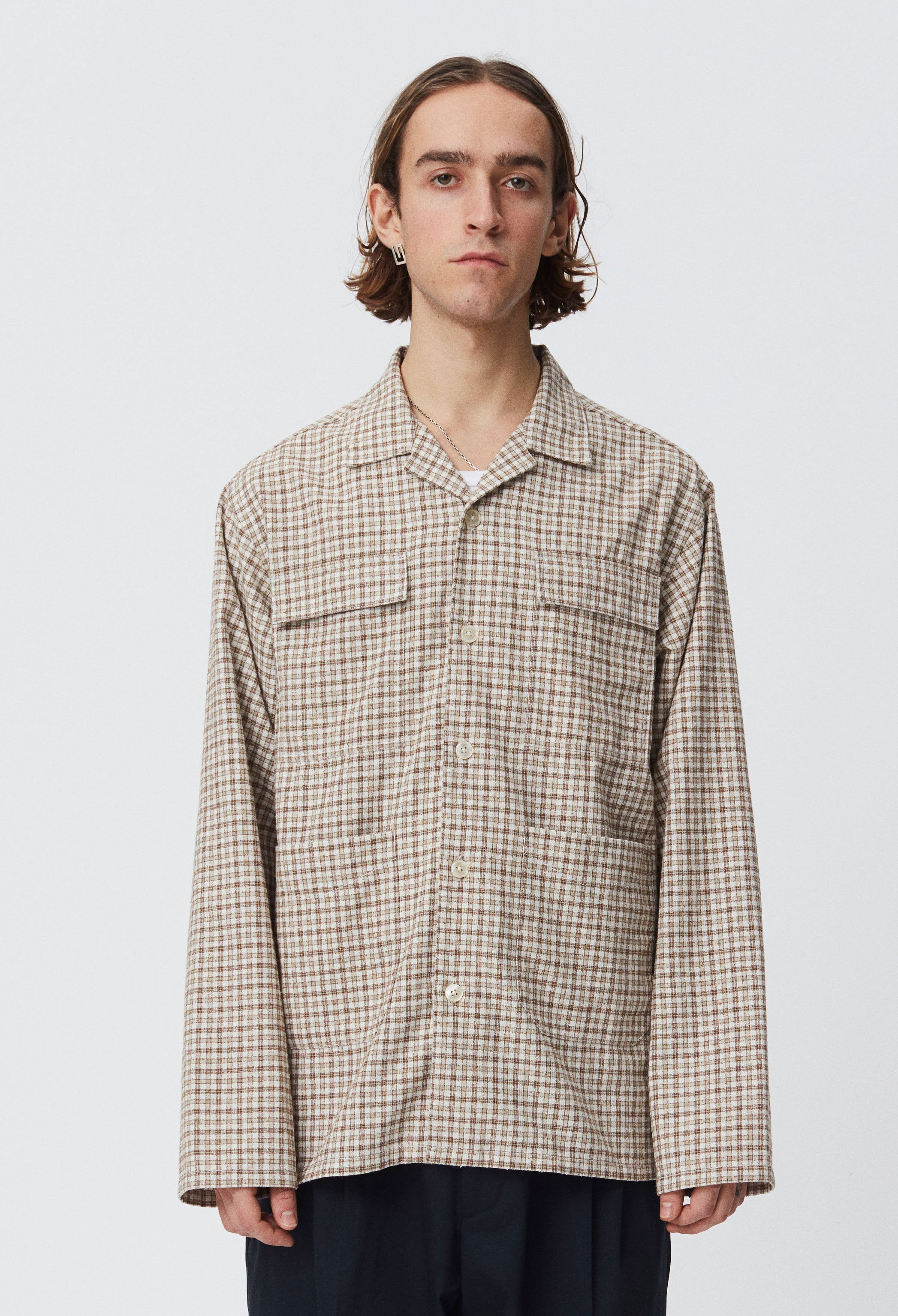 Work Shirt - Beige