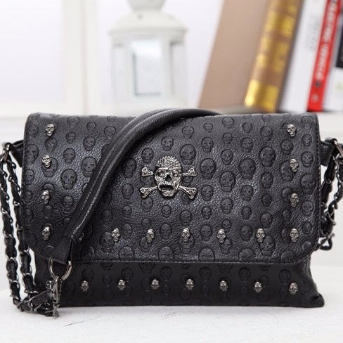 Vintage Fashion Skull Bag