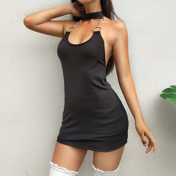 Dark Teen Summer Dress