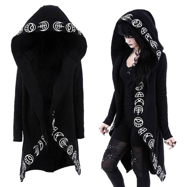 Dark Gothic Large Size Hoodies