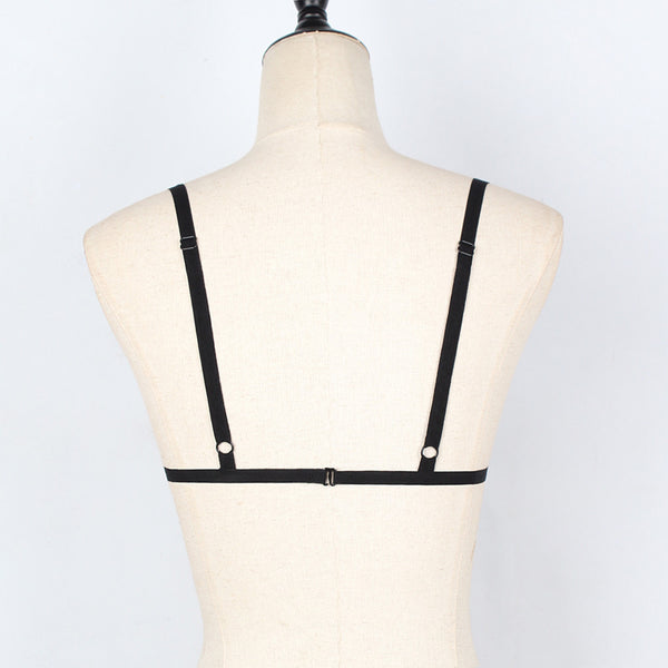 Meera - Bustier Goth Harness