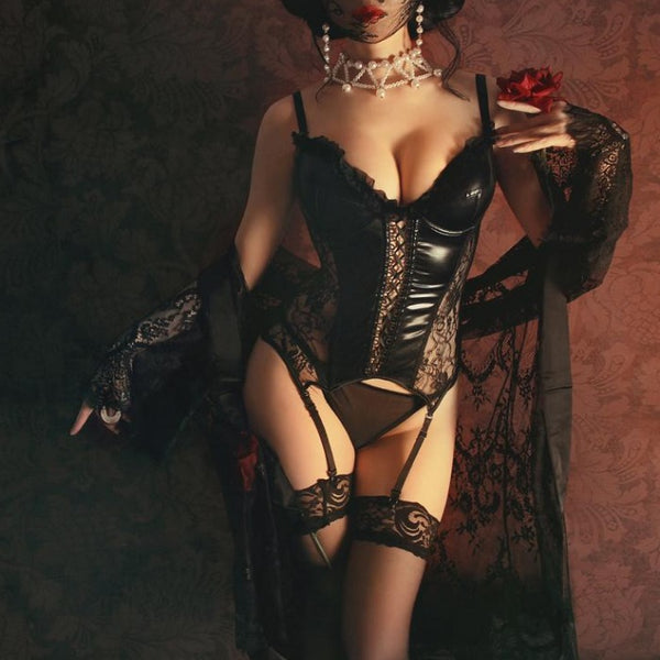 Gothic Style Side Lace Corset