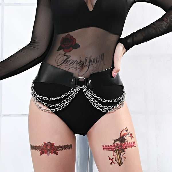 Erotic Chain Swing Sides Belt