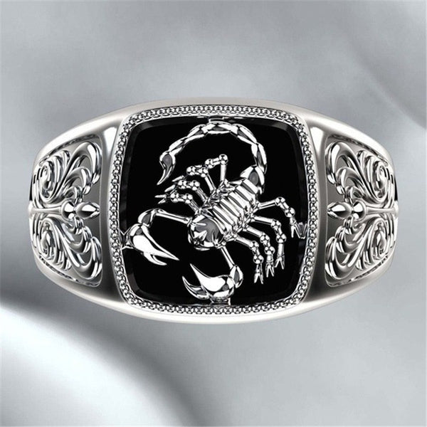 Scorpion Style Gothic Ring