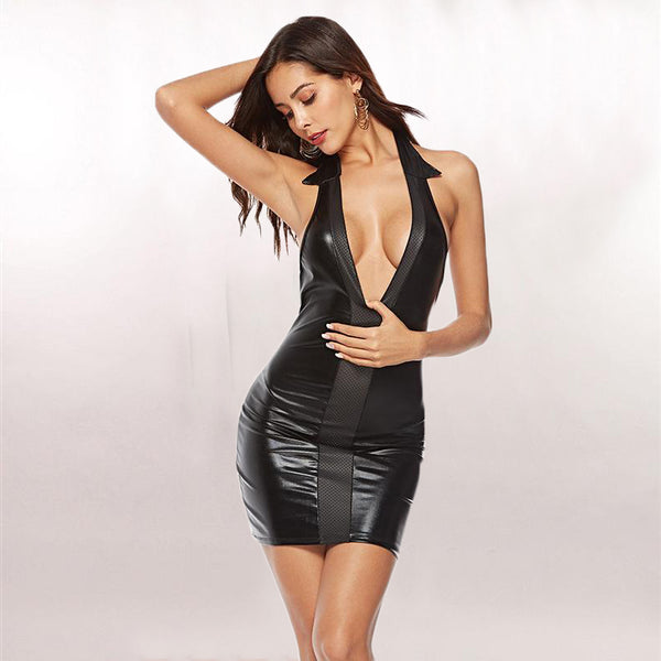 Sexy Tight-Fitting Erotic Dress