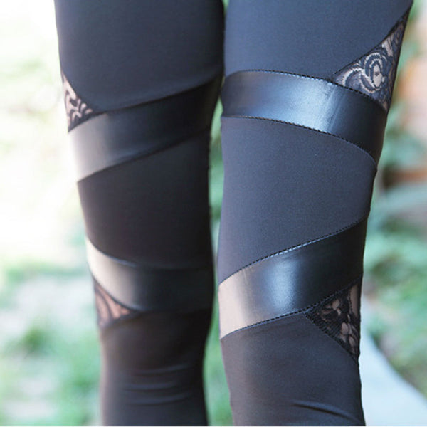 Dark Flora Leggings