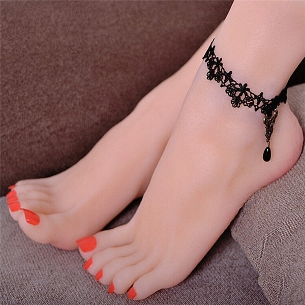 Fashion Gothic Anklet