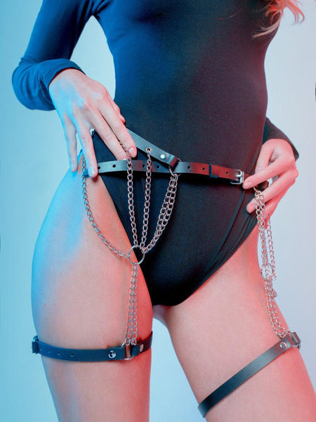Chains and Straps Sexy Harness