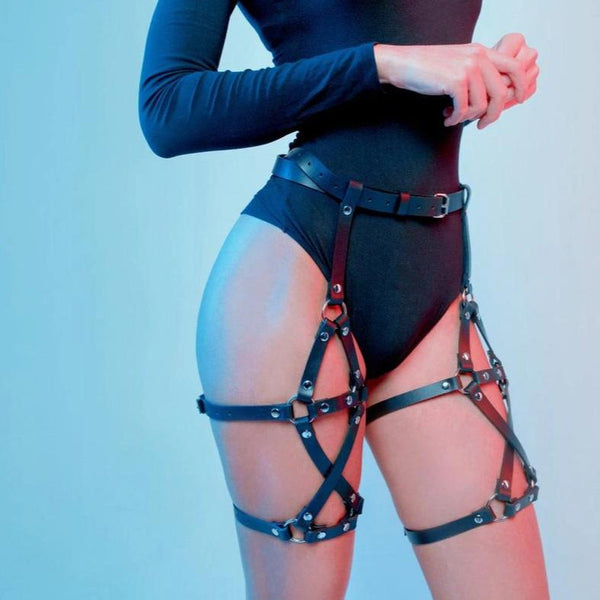 Thick Strap Bottom Harness
