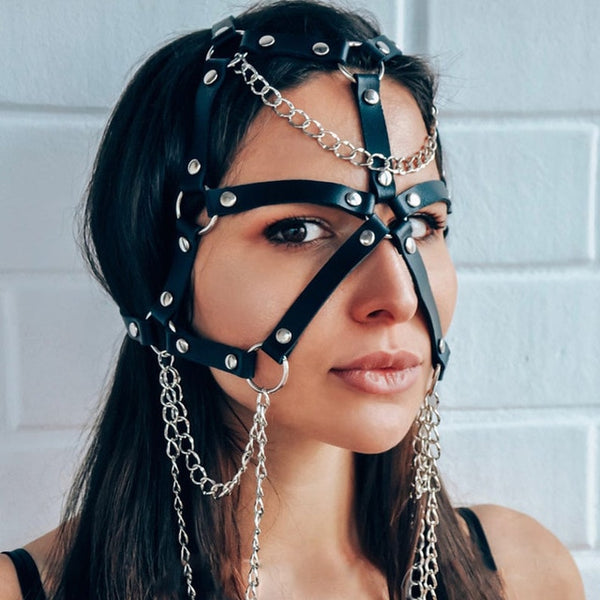 Exotic Face Bondage