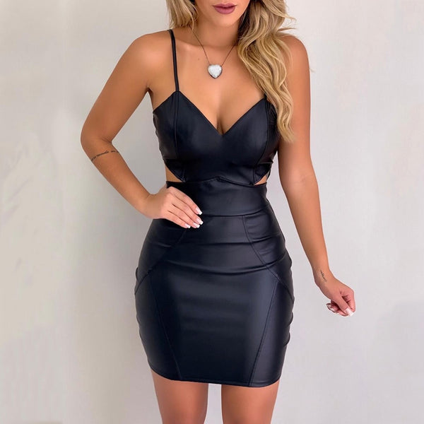 Solid Fashion Bodycon Dress