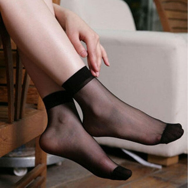 Sexy Ultra Thin Silk Socks