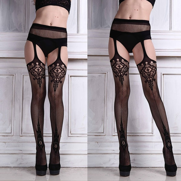 Gothic Laced Stocking