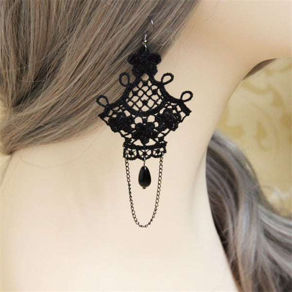 Vintage Gothic Drop Earring