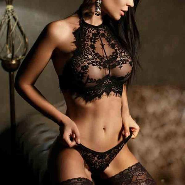 Exotic Laced Intimates Set