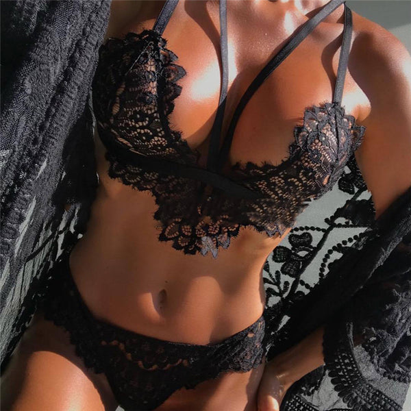 Lace Underwear Sexy Set