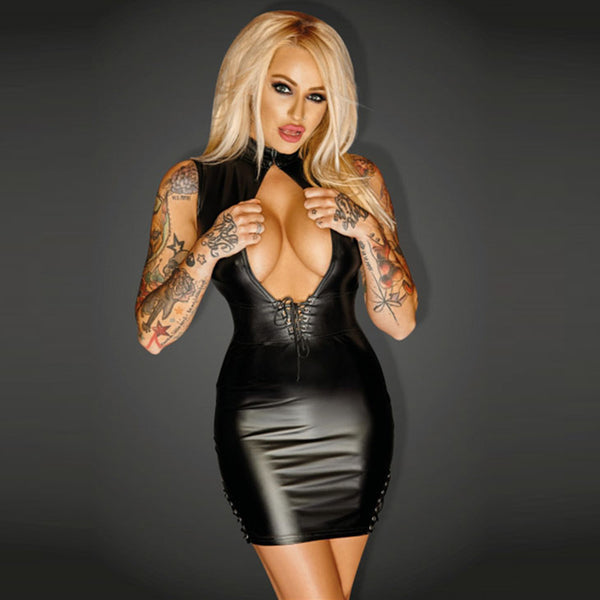 Exotic Open Chest Bodycon