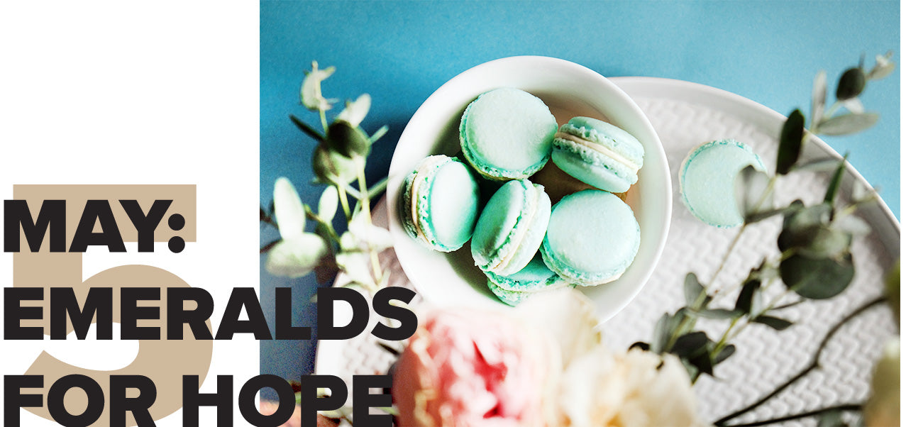 May: Emeralds for Hope