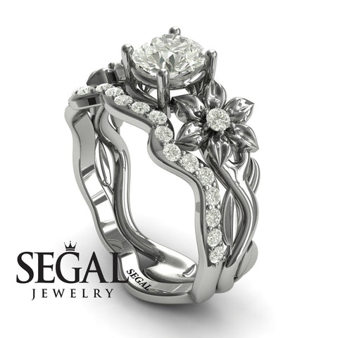 For All Eternity Bridal Set Ring - Julia no. 3