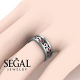 Yin Yang Wedding band- Leanna no. 9