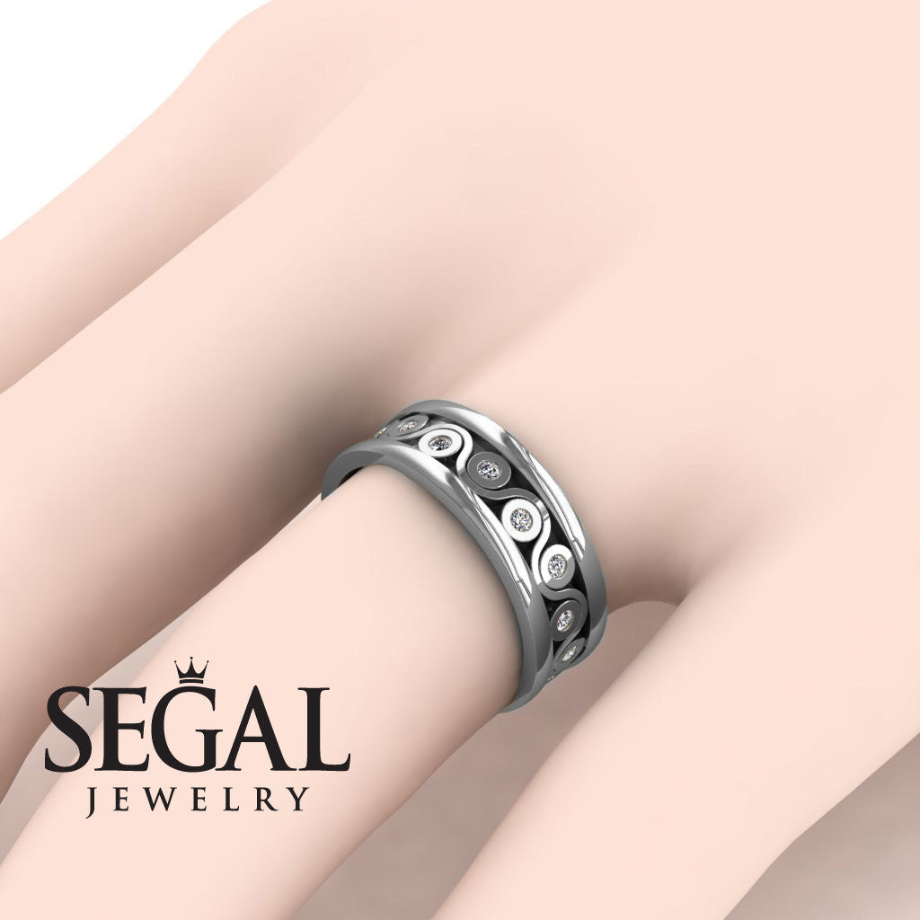 Yin Yang Wedding band- Leanna no. 3