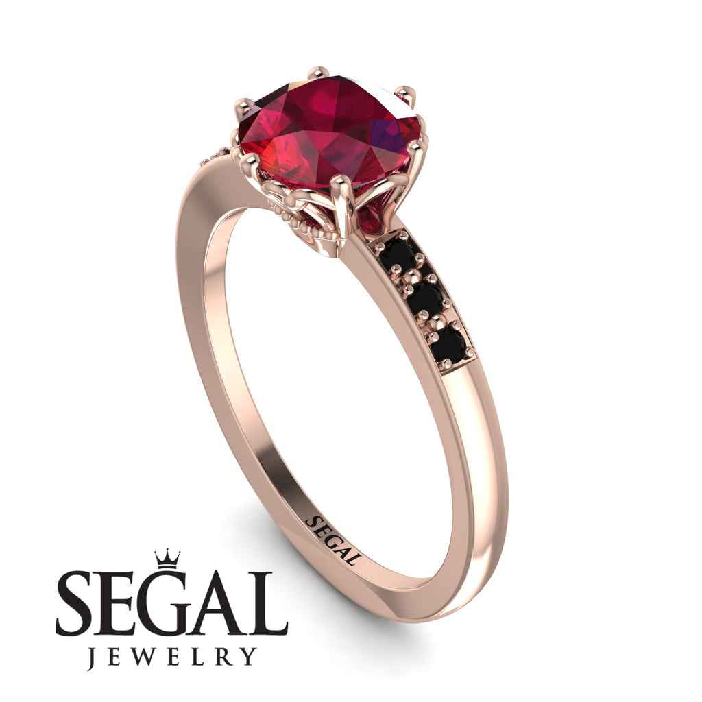 Classic Ruby Vintage Ring - Olivia No. 26