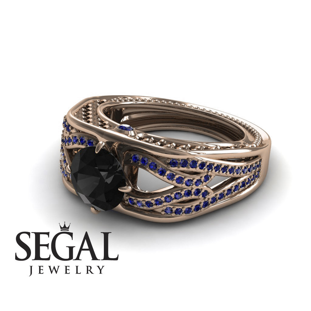 Racer's Cage Black Diamond Ring- Bailey no. 8