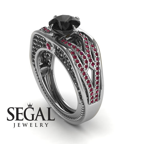 Racer's Cage Black Diamond Ring- Bailey noº 15