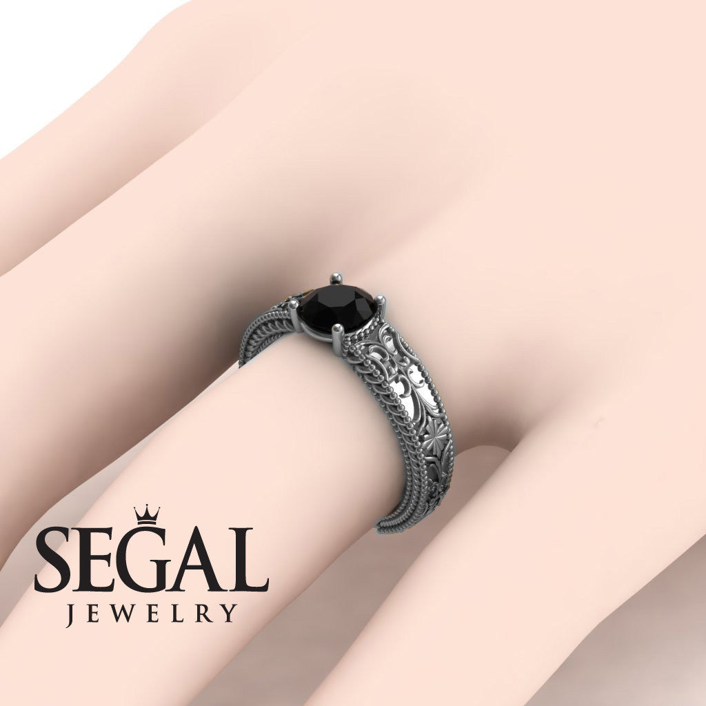 The Clear Opera Black Diamond Ring- Brooklyn no. 15