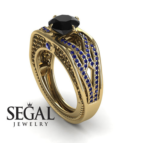 Racer's Cage Black Diamond Ring- Bailey noº 7