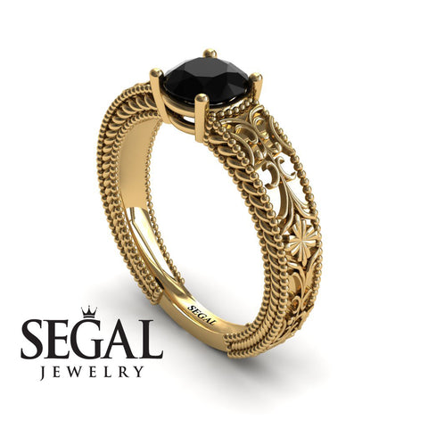 The Clear Opera Black Diamond Ring- Brooklyn no. 13