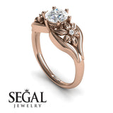Two Seasons Flower Ring Diamond Ring- Bella no. 2
