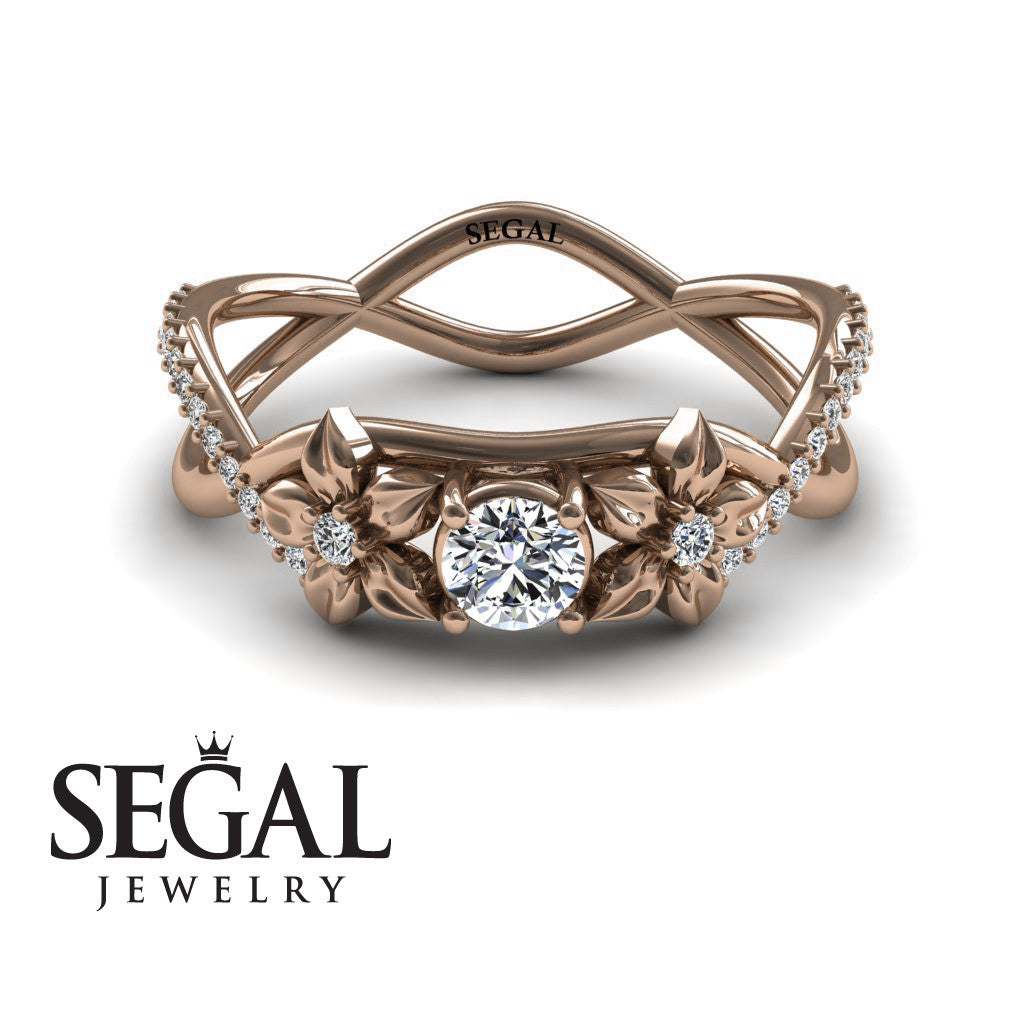 The Swift Flowers Diamond Ring- Charlie no. 2
