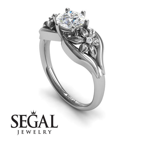 Two Seasons Flower Ring Diamond Ring- Bella no. 3