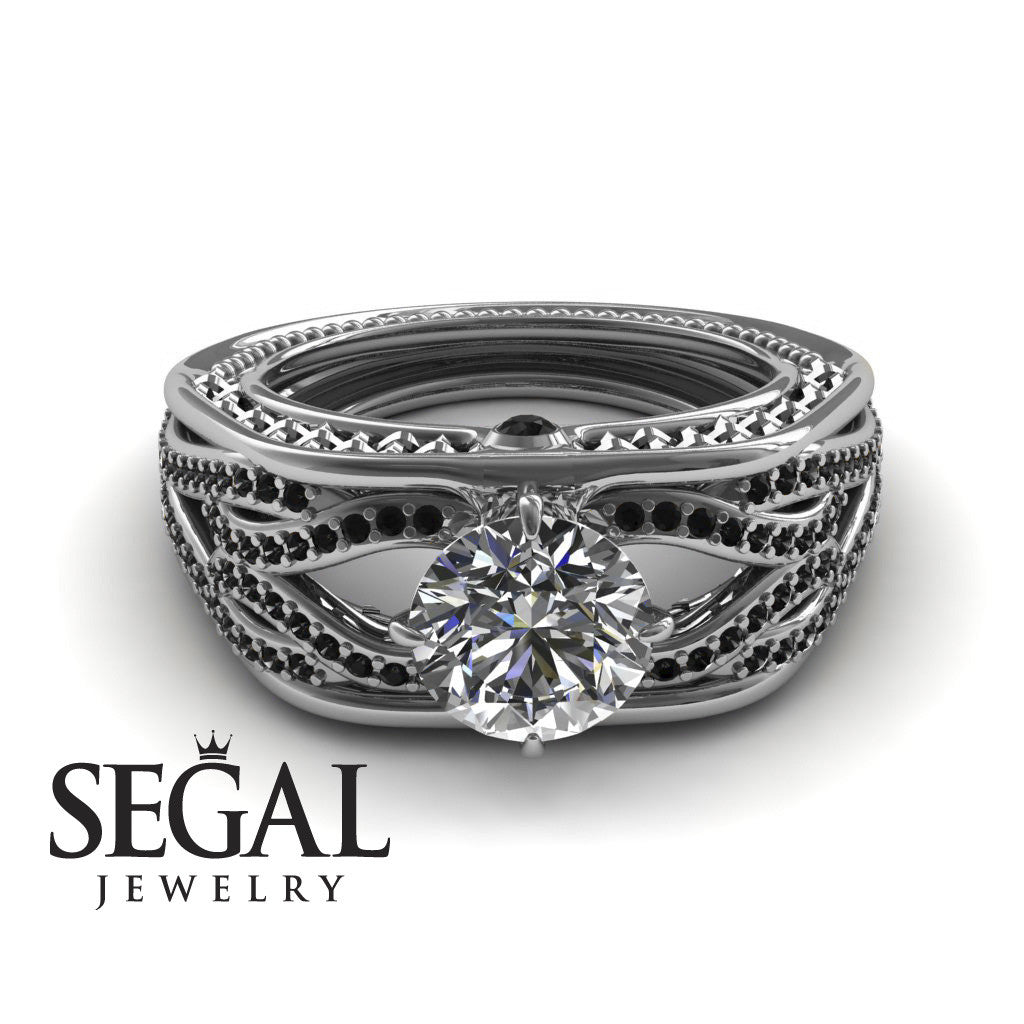 Racer's Cage Diamond Ring- Bailey no. 12