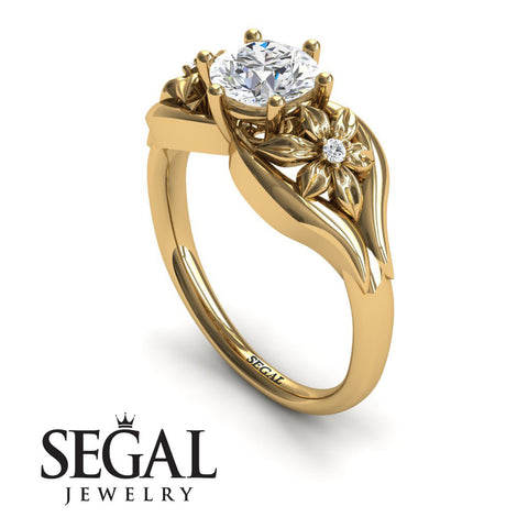 Two Seasons Flower Ring Diamond Ring- Bella no. 1