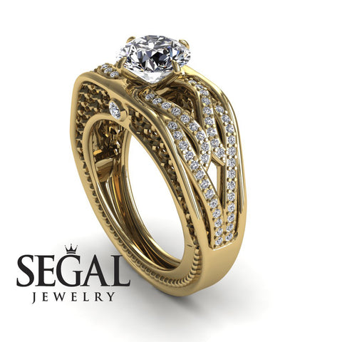 Racer's Cage Diamond Ring- Bailey no. 1
